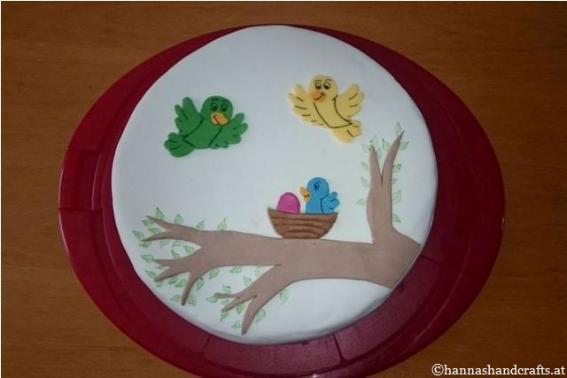 99. Vogel-Torte
