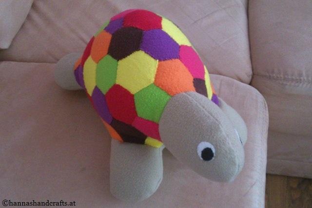 12. Schildkröte bunt